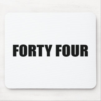 FORTY FOUR MOUSEPADS