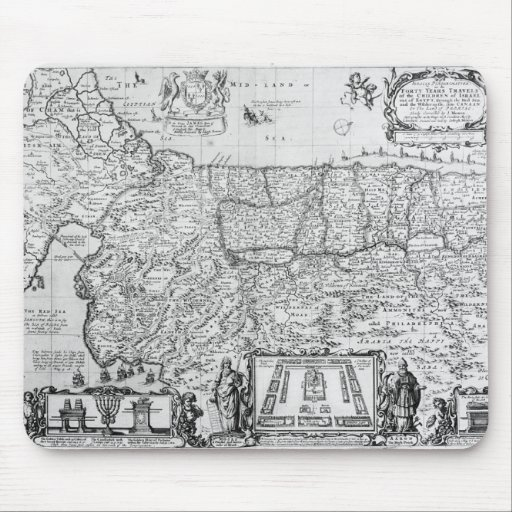 Forty Years Travels of the Children of Israel Mouse Pads