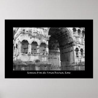 Forum Boarium, Rome Poster