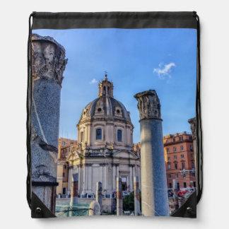 Forum Romanum, Rome, Italy Drawstring Bag