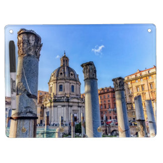 Forum Romanum, Rome, Italy Dry Erase Board With Key Ring Holder