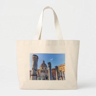 Forum Romanum, Rome, Italy Large Tote Bag