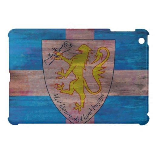 Forvik distressed flag cover for the iPad mini