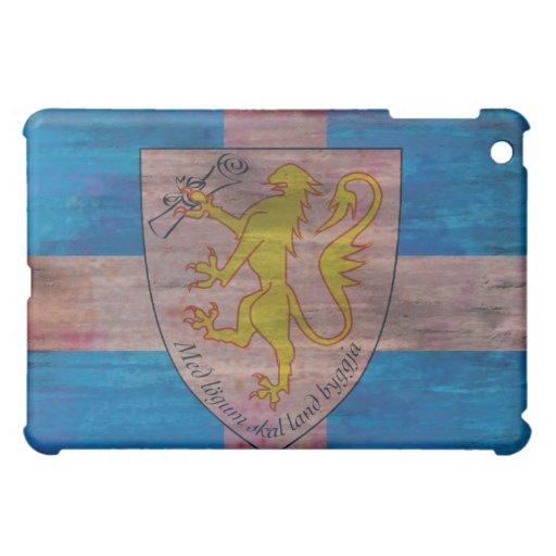 Forvik distressed flag iPad mini cases