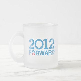 Forward 2012 Vintage Frosted Glass Mug