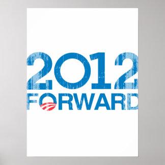 Forward 2012 Vintage Poster