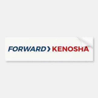Forward Kenosha Bumper Sticker