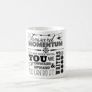 Forward Momentum mug for writers