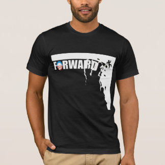 Forward - Off a cliff! - Anti Obama T-Shirt
