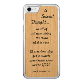 Fosse-A-Poem Carved iPhone 8/7 Case