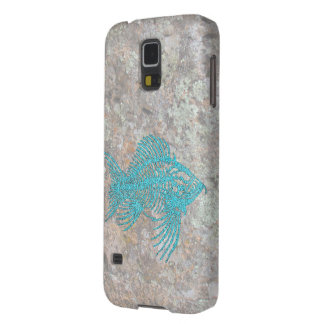 Fossil Fish Case For Galaxy S5