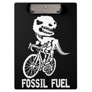 Fossil fuel clipboard
