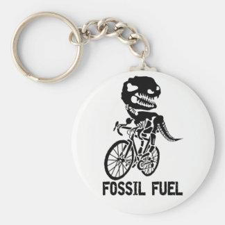 Fossil fuel key ring
