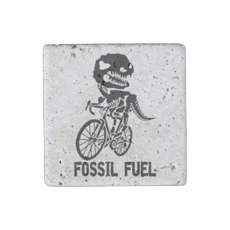 Fossil fuel stone magnet