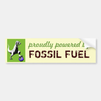 Fossil Fueled Bumper Sticker