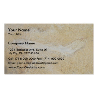 Fossil Twig In Limestone, Wanneroo Beach Pack Of Standard Business Cards