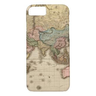 Fossil World Map 10 iPhone 7 Case