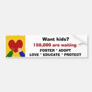 Foster Adopt Love Sticker