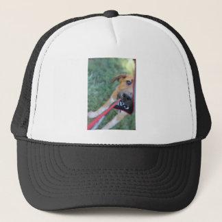 Foster Dog Tug of War Trucker Hat