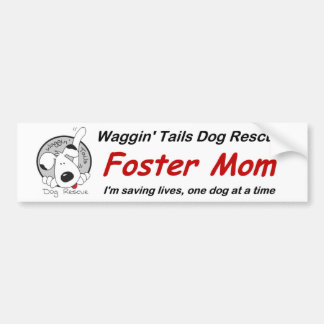Foster Mom Bumper Sticker