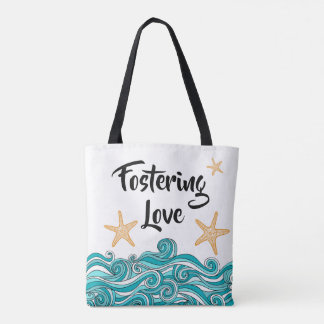 Fostering Love - Foster Care Themed Adoption Gift Tote Bag