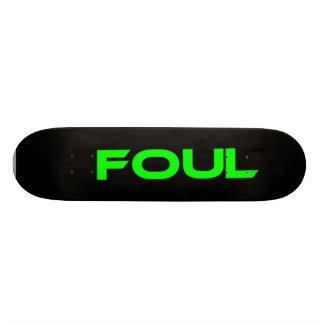Foul aa-1 custom skate board