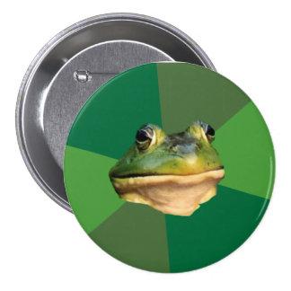 Foul Bachelor Frog 7.5 Cm Round Badge