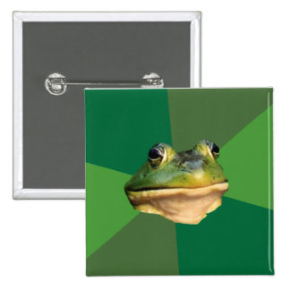 Foul Bachelor Frog Buttons