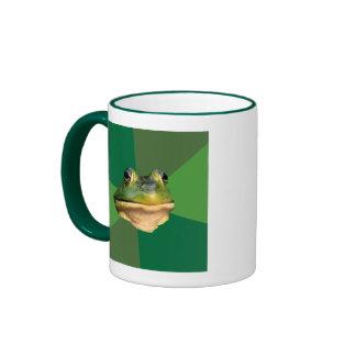 Foul Bachelor Frog Ringer Mug