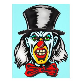 Foul Evil Clown 21.5 Cm X 28 Cm Flyer