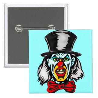 Foul Evil Clown Buttons