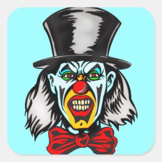 Foul Evil Clown Stickers