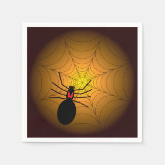 Found Me A Spider Halloween Party Paper Napkins