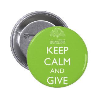 Foundation Beyond Belief Keep Calm Button