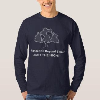 Foundation Beyond Belief Light The Night Team T-Shirt