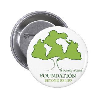 Foundation Beyond Belief logo Pinback Buttons