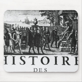 Foundation by Louis XIV, king of France Mouse Pad