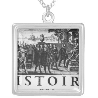 Foundation by Louis XIV, king of France Silver Plated Necklace