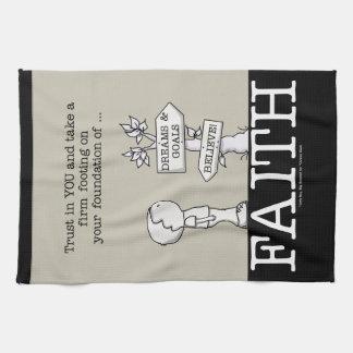 Foundation of Faith Tea Towel