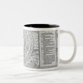 Foundation of Hochelaga Two-Tone Coffee Mug