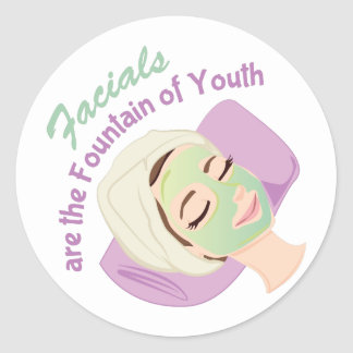 Foundation Of Youth Classic Round Sticker
