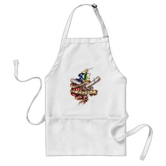 founded by rebels standard apron