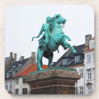 Founder of Copenhagen Absalon - Højbro Plads Coaster