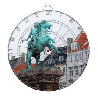 Founder of Copenhagen Absalon - Højbro Plads Dart Board