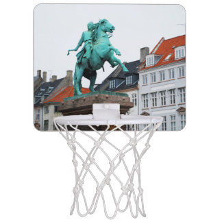 Founder of Copenhagen Absalon - Højbro Plads Mini Basketball Hoop