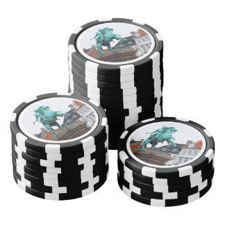 Founder of Copenhagen Absalon - Højbro Plads Poker Chips