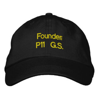 Founder: P11 G.S. Embroidered Hat