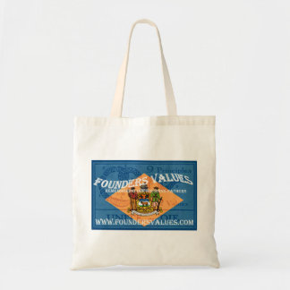 Founders Values Tote Budget Tote Bag