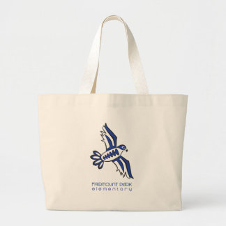 Founding Falcon Spirit Large Tote Bag