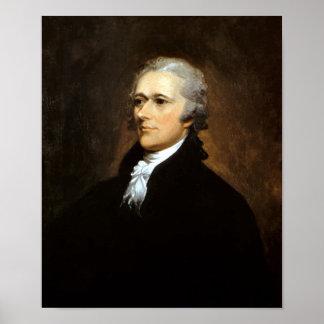 Founding Father Alexander Hamilton Poster